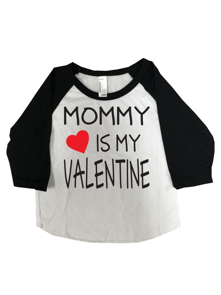 mommy is my valentine valentines day shirt kids baseball tee customized custom babies youth kids boys girls valentines valentines shirt - Boys Valentines Day Shirts