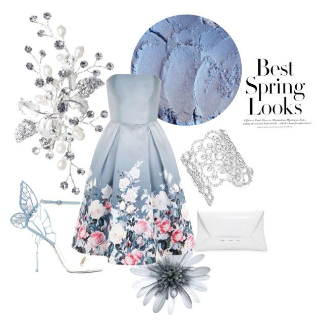 Spring Floral by mikaelajane17 on Polyvore featuring Chi Chi, Sophia Webster, VBH, Kate Spade and H&M, fashion, dress, spring,