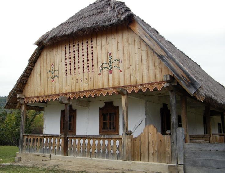 Gyönyörű díszes házikó, Hungary