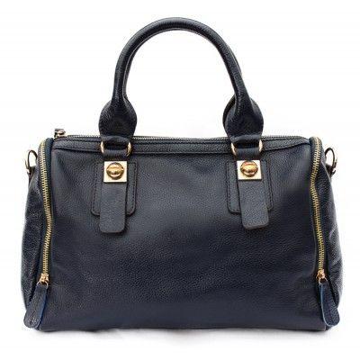Double Zip Handbag