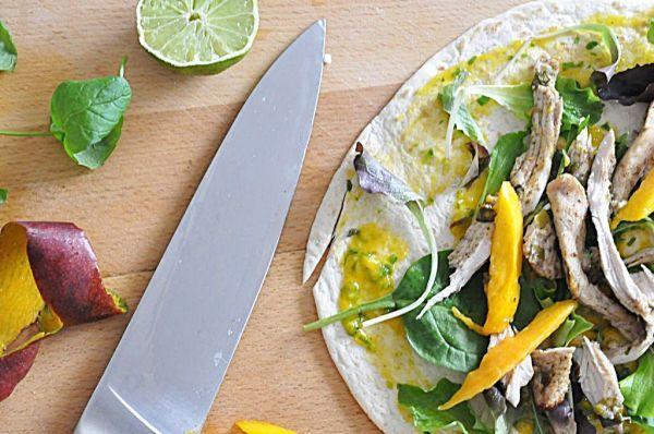 Przepisy dla przyszłych Mam! Wiosenna tortilla z pieczonym indykiem, świeżym mango i bazylią! | Make Cooking Easier