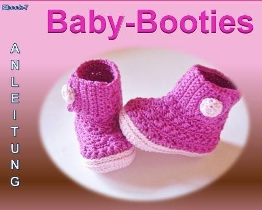 Baby-Booties selber häkeln - Babyschuhe DIY