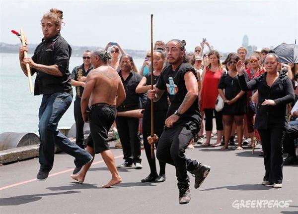 Our welcome by Ngāti Whātua o Orakei