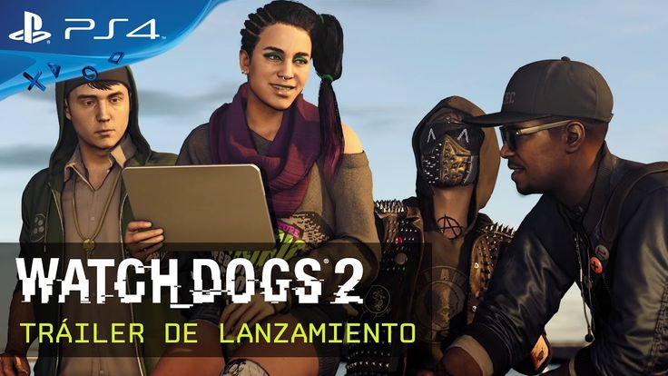 Watch Dogs 2 - Tráiler de Lanzamiento [ES] #WatchDogs2 #MarcusHolloway #PC #PS4 #XboxOne #Ubisoft #shooter #Hacker #Dedsec