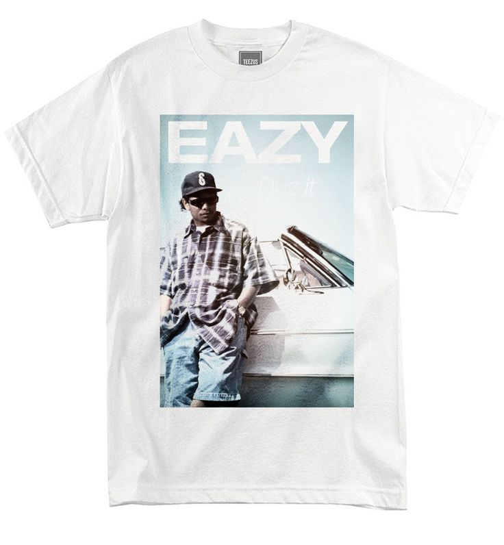Mens Eazy E T-Shirt - nwa_Gangsta Rap_Dr Dre_Ice Cube_Public Enemy_Old School Hip Hop by thestudio315 on Etsy https://www.etsy.com/listing/200681534/mens-eazy-e-t-shirt-nwagangsta-rapdr