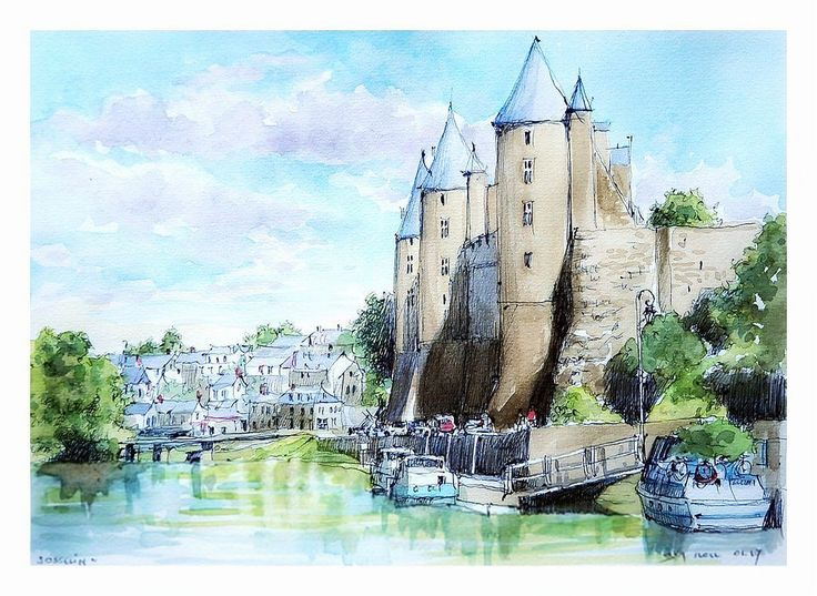 Josselin - Bretagne - France