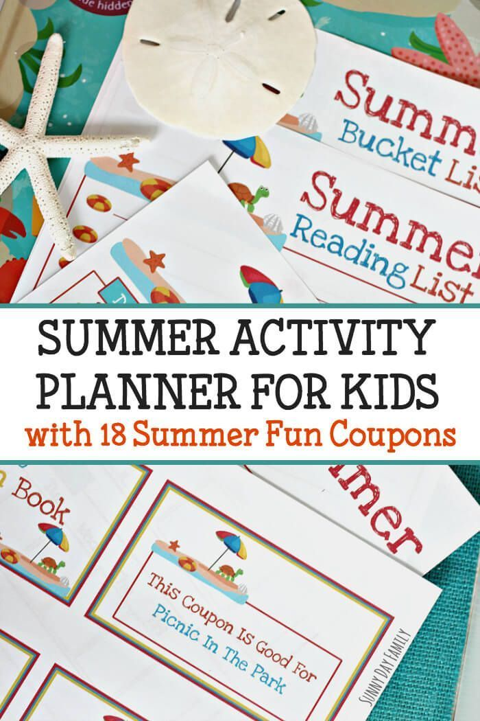 Activity coupons