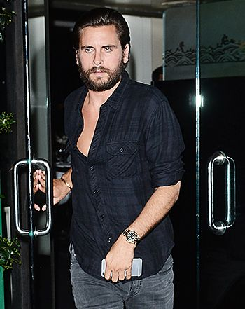 Scott Disick Dines Out After Meeting With Kourtney Kardashian: Photo