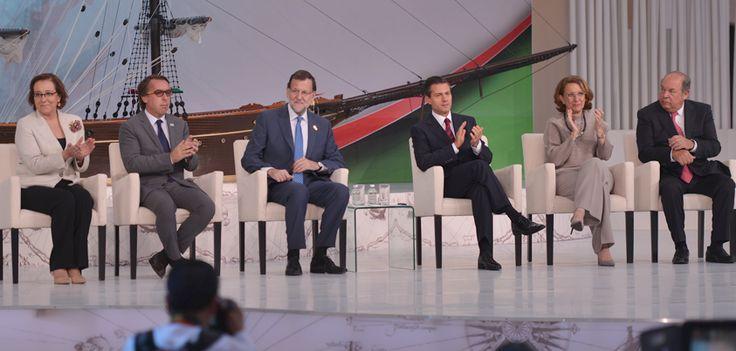 Entre los asistentes, estuvo la secretaria general Iberoamericana, Rebeca Grynspan; el presidente del gobierno español, Mariano Rajoy; el presidente de Grupo Televisa, Emilio Azcárraga Jean, y el coordinador general de Comunicación Social de Presidencia de la República, David López.
