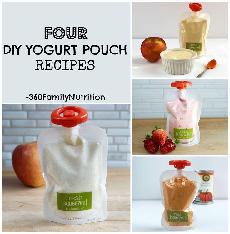 360FamilyNutrition: DIY Yogurt Pouch Recipes