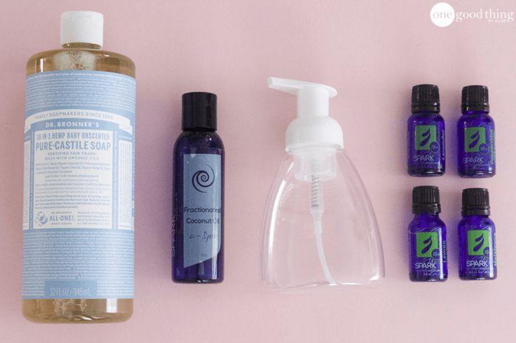 Homemade Coconut Oil Hand Soap