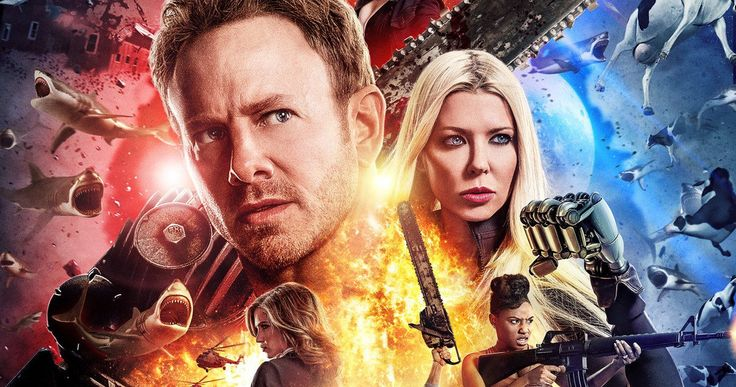 'Sharknado 4' Trailer Has Strippers Fighting Sharks in Las Vegas -- Chaos engulfs Las Vegas when another inexplicable tornado tears through town in the latest trailer for 'Sharknado 4', debuting July 31 on Syfy. -- http://movieweb.com/sharknado-4-trailer/