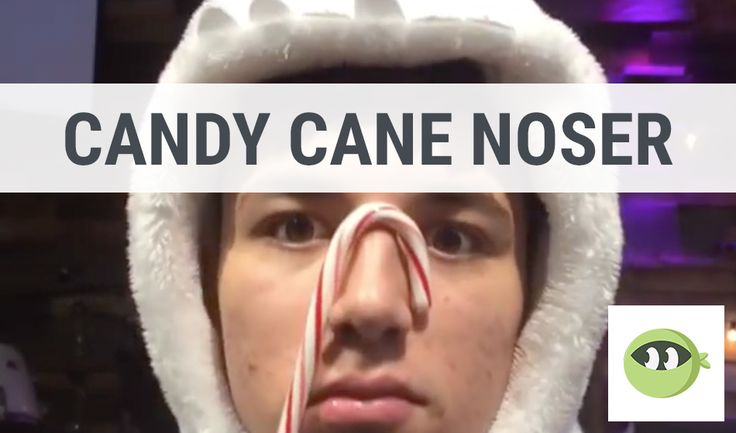 CANDY CANE NOSER: Youth Group Games - Stuff You Can Use