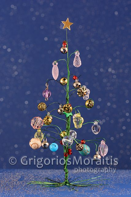 Christmas Jewelry Tree - Royalty Free Stock Photo