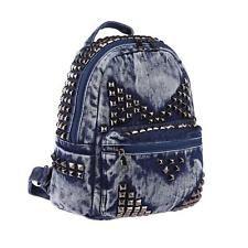 Femmes Rivets Sac à dos Jeans Denim Coton cityrucksack US Sac It-bag: 36,95 EUREnd Date: 07-août 12:48Buy It Now for only: US 36,95 EURBuy…
