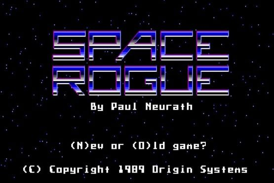 MS-DOS Space Rogue