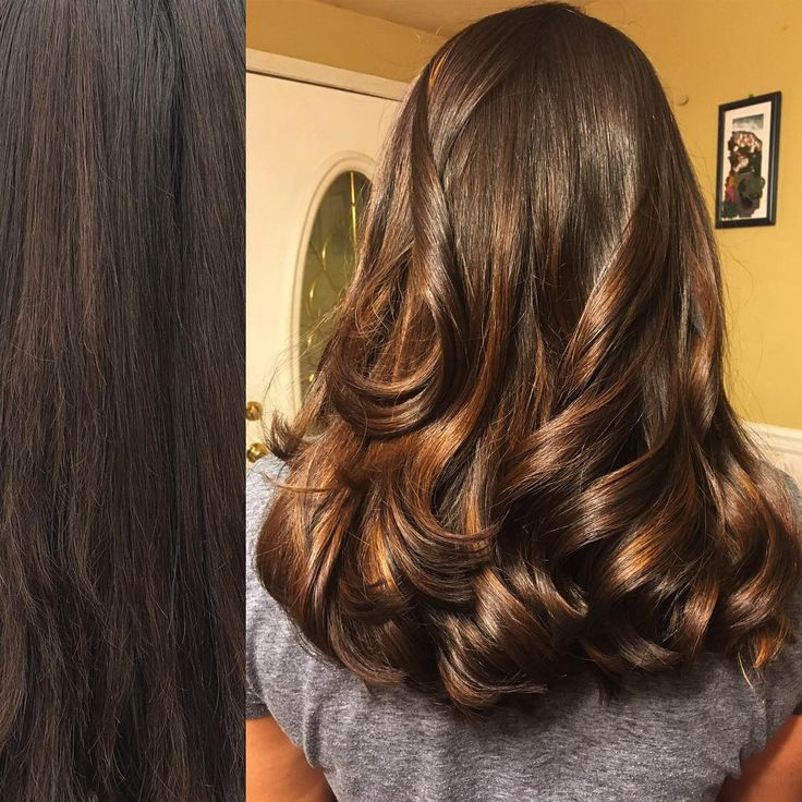 Using Joico Duolight In Caramel On Cari S Virgin Hair Was A Dream Not Having To Lighten And Tone Two Separate Steps Is Always Nice It Left Her