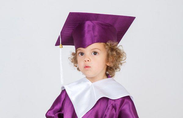 Детская академическая мантия (для детского сада и яслей)