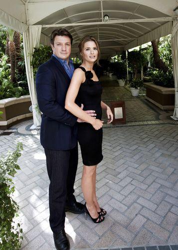 Nathan Fillon and Stana Katic