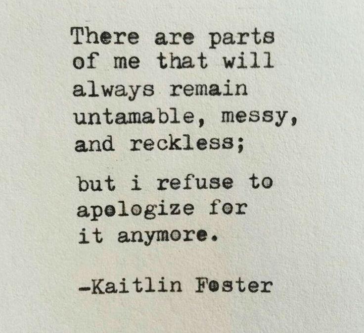 ˚°◦ღ... no apologies