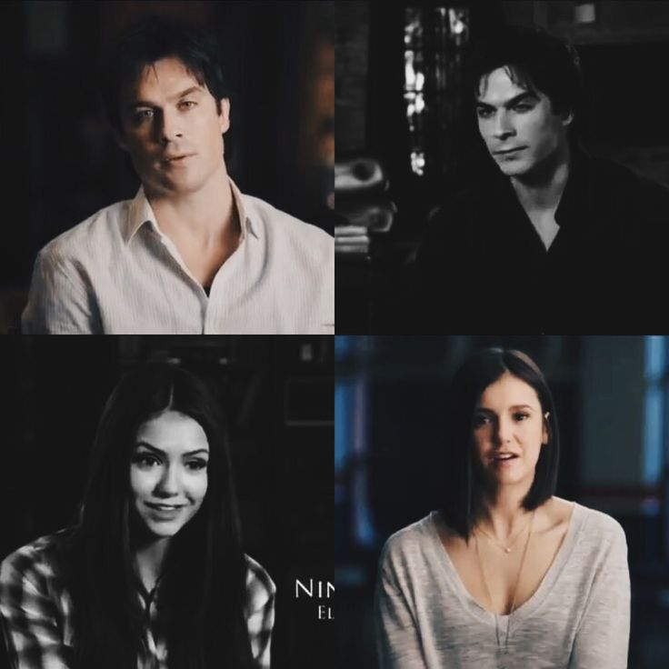 2009 - 2017 First and Last Interviews (Nina and Ian) The show was foreshadowing Delena and will end with Delena. 8 YEARS. I am so not ready for The Vampire Diaries to end. Look at how far we've come, especially for the Delena fans out there. See you guys next week! I'll be the one crying at the corner