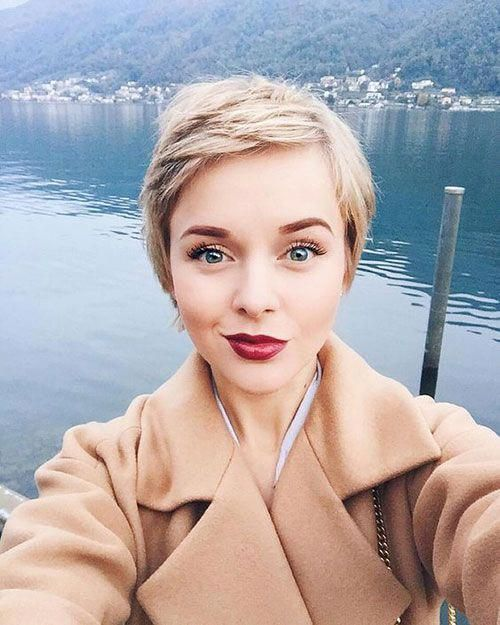 26 Short Pixie Haircuts for Pretty Look #shortpixiehairstyles