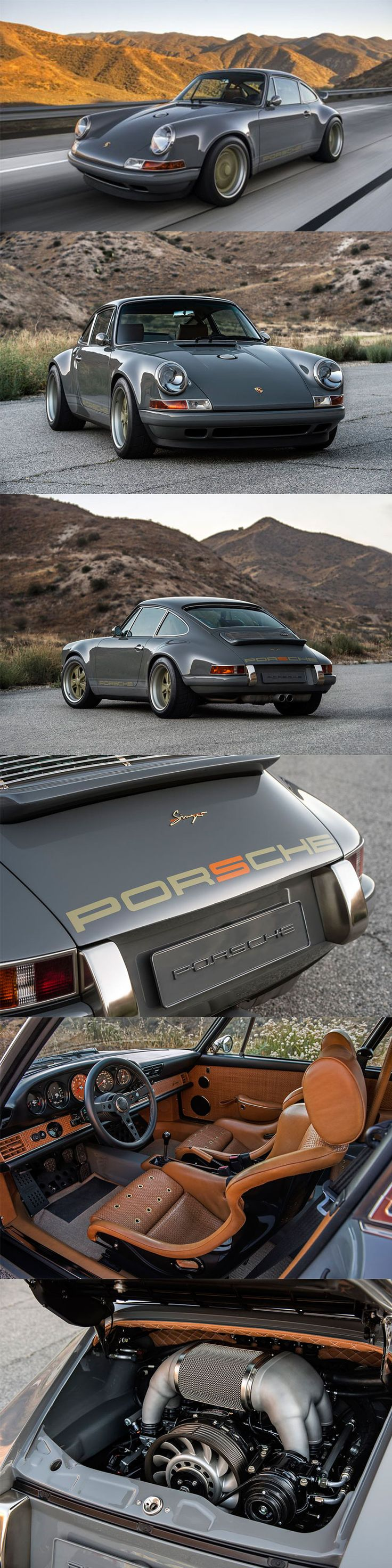 911 Porsche By Singer Vehicle Design   Chicago Version