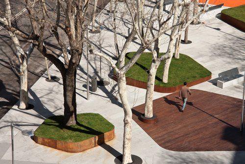 Plaza de Santa Bárbara. Madrid