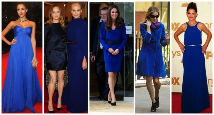 Azul Klein, el color más chic del invierno #moda #fashion