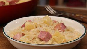 Sauerkraut mit Kassler, ein sehr schönes Rezept aus der Kategorie Eintopf. Bewertungen: 256. Durchschnitt: Ø 4,6.