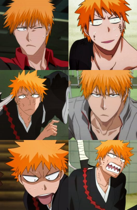 Ichigo xD I completely love his facial expressions :)