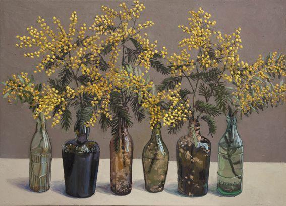Wattle. Lucy Culliton - Bibbenluke Flowers exhibition