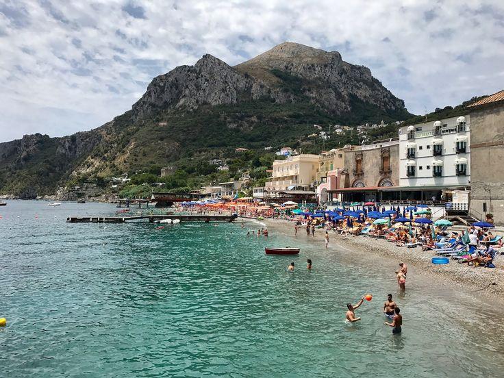 Baia di Nerano, Amalfi Coast