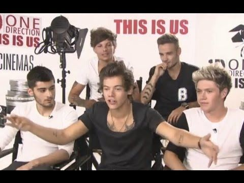 One Direction Funny Interview (This Is Us)