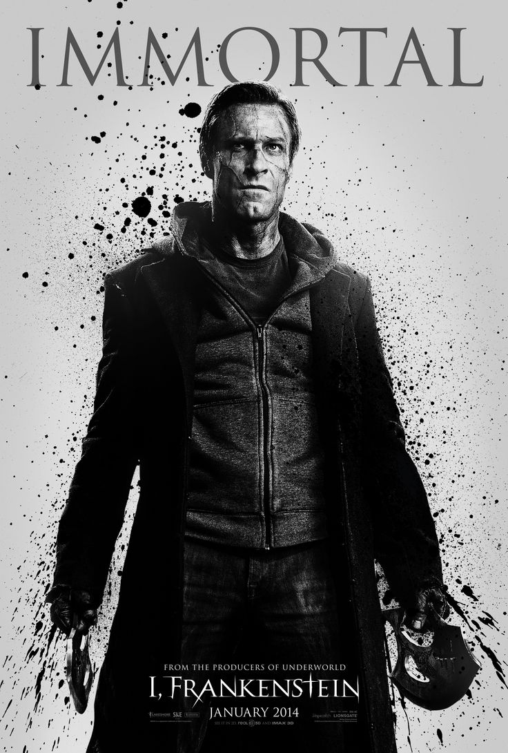 Good And Evil Immortals Battle In Three New I, Frankenstein Posters On  Http: