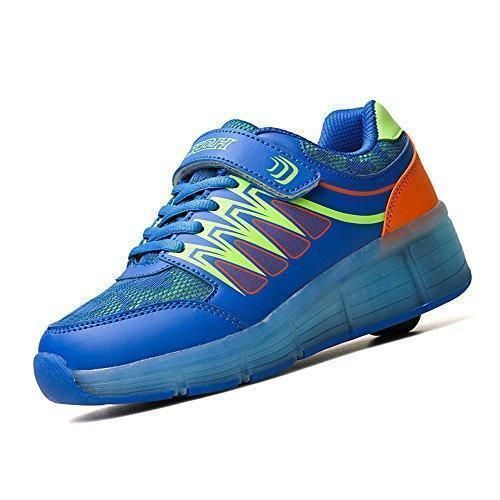 Oferta: 54€ Dto: -41%. Comprar Ofertas de Chicas USB Carga led los Zapatos del patín de ruedas,Zapatos de deporte para niños (EU35, Azul) barato. ¡Mira las ofertas!