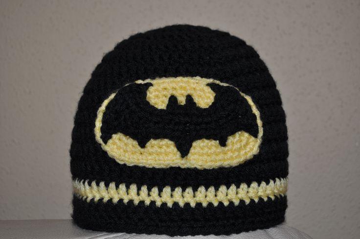 Batman Logo Crochet Patterns Free Crochet Hats