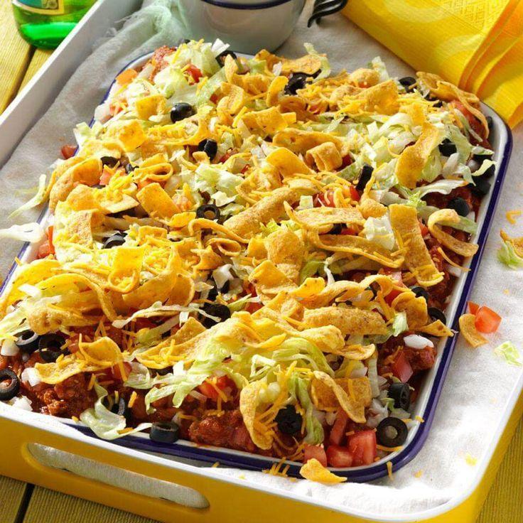 Texas taco platter anyone?