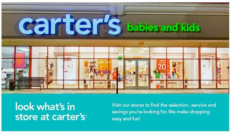 Head Back to School in Style with Carter's - EAT.