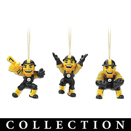 Pittsburgh Steelers Steely McBeam Ornament Collection #Steelers #NFL