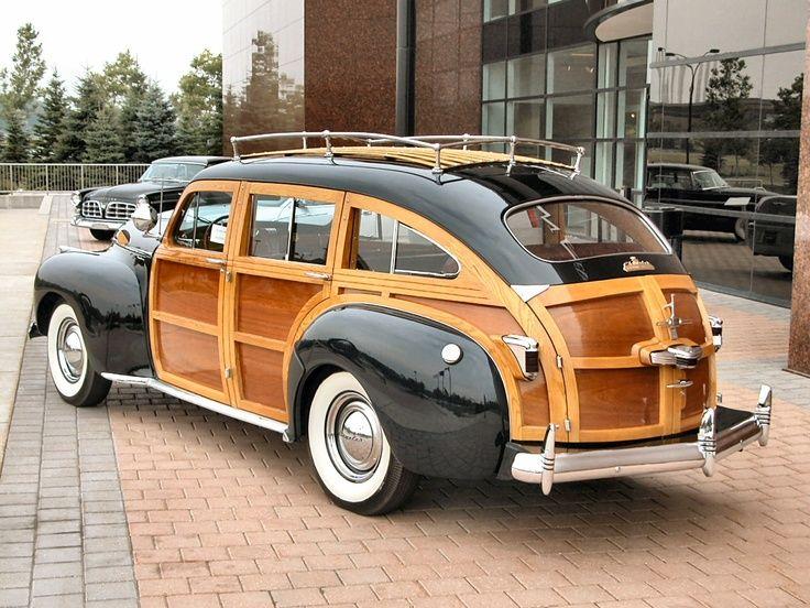 1941 Chrysler City & Nation Woody Station Wagon