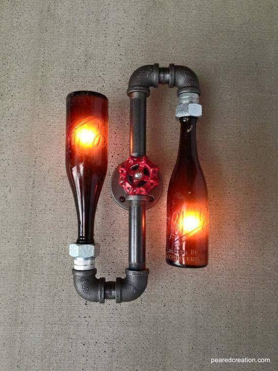 Lampade vintage in stile Steampunk