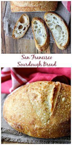 Wild Yeast San Francisco Style Sourdough Bread from Karen's Kitchen Stories