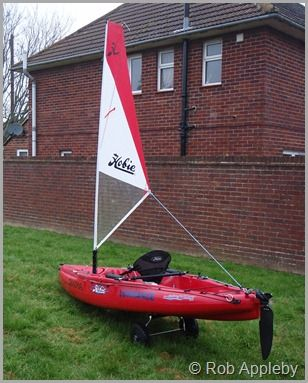 Rigging the Hobie Outback for sailing « « Kayak Fishing Blog Kayak Fishing Blog