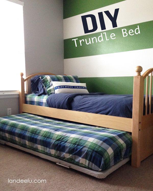 DIY Trundle Bed Tutorial - landeelu.com