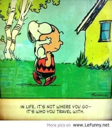 In life, it's not where you go …