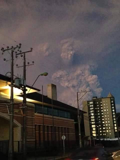 Oh My God - Fallen Angel Shows Himself In Erupting Chile Volcano (Pictures) | Alternative