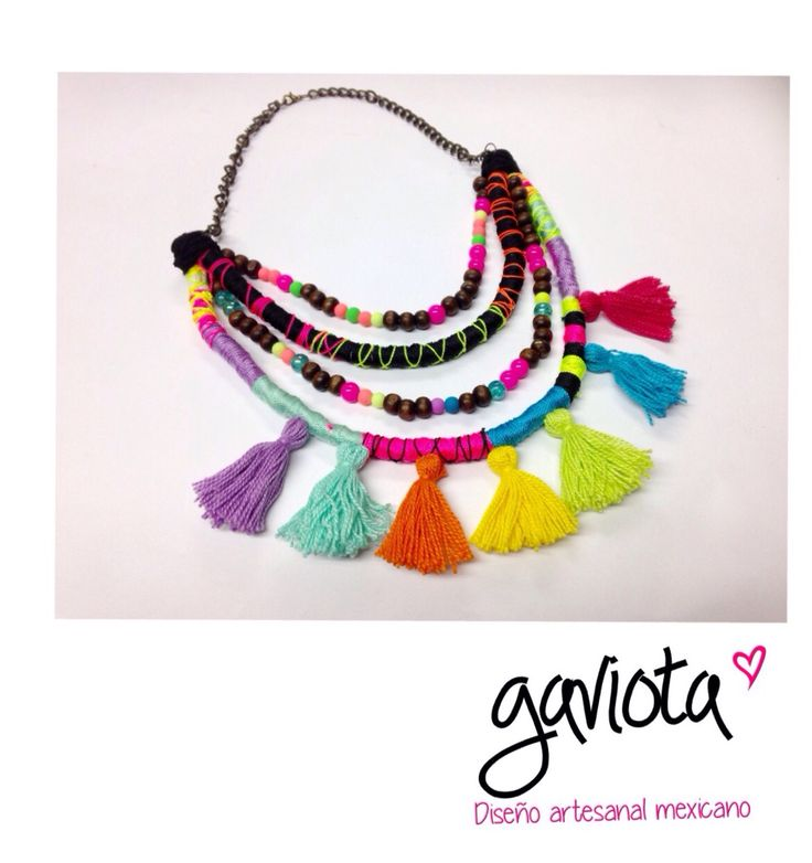 32 best collares artesanales mexicanos images on pinterest for Disenos de collares