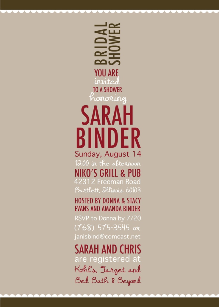 Wine Bridal Shower Invitation Wine Lovers by