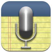 Med AudioNote så spelar du in till exempel en lektion och gör korta anteckningar för att sedan kunna lyssna igen och hoppa till det som spelades in när du gjorde anteckningarna. #svapplista